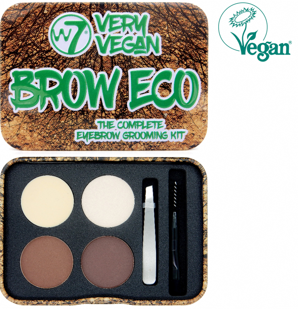 W7 Very Vegan Brow Eco The Complete Brow Kit